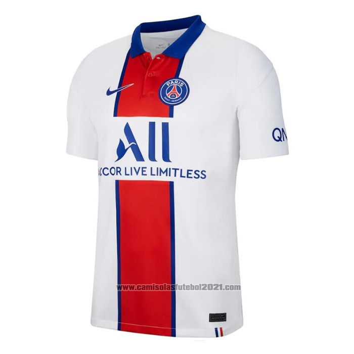 Camisola Paris Saint-Germain 2º 2020-2021